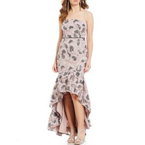 🆕 Gianni Bini Jessie Floral Print Hi-Low Dress
